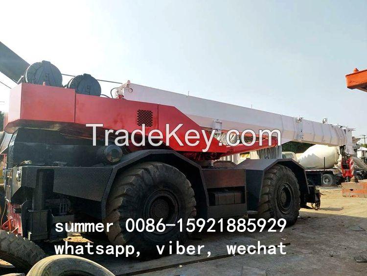 used 50ton rough terrain crane made in japan, tadano crane price in china