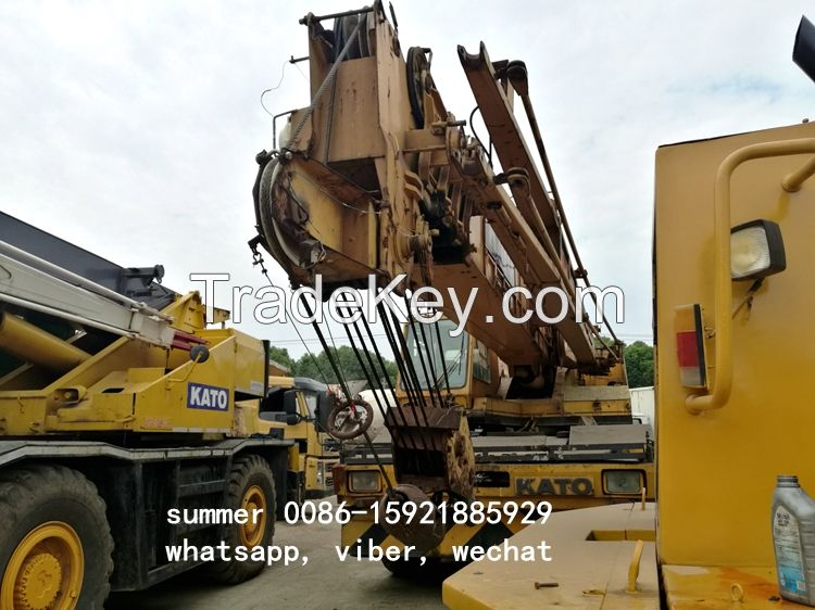 used 50ton kato rough terrain crane in cheap price