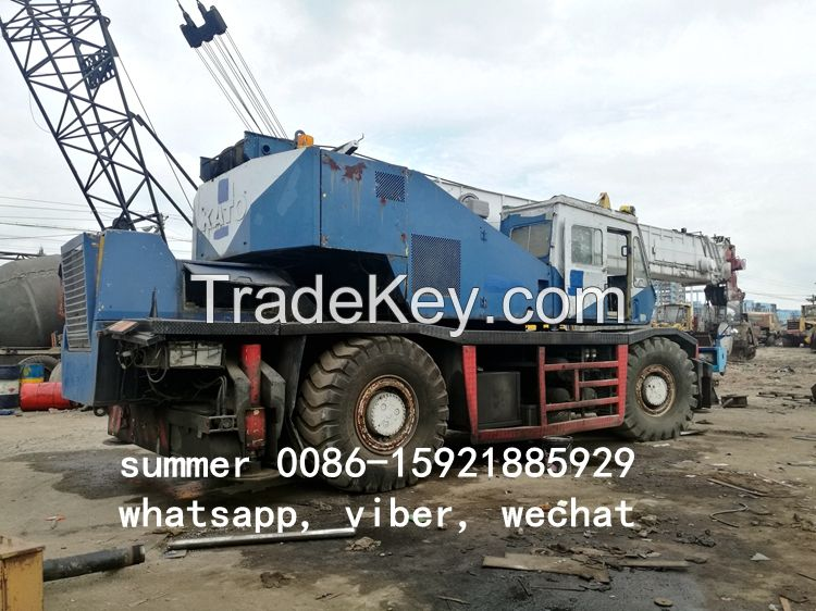 used 45ton rough terrain crane in china