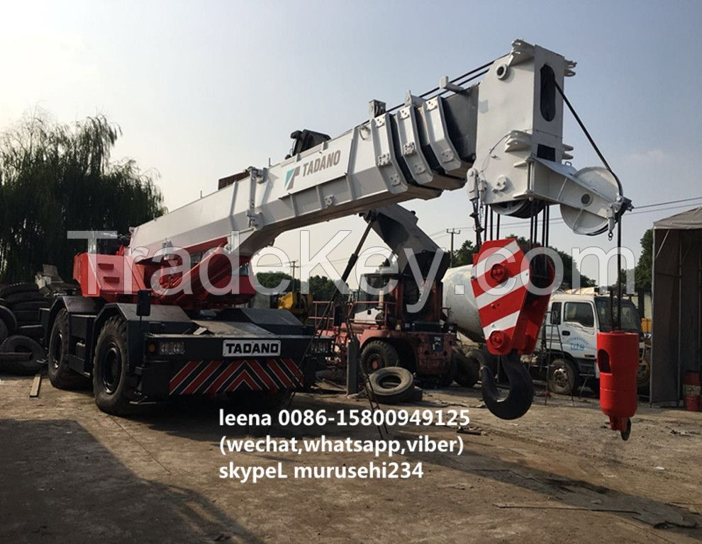 used 50tons tadano rough terrian crane