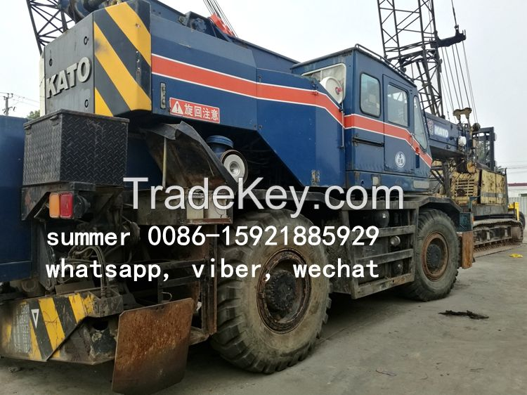 used japan rough terrain crane for sale, used 25t kato price