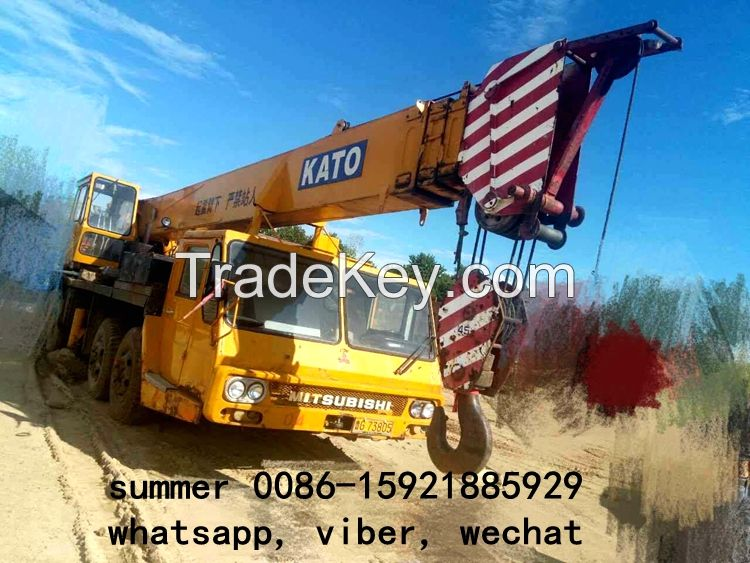 used 45t mobile truck crane for sale in china, used kato crane price
