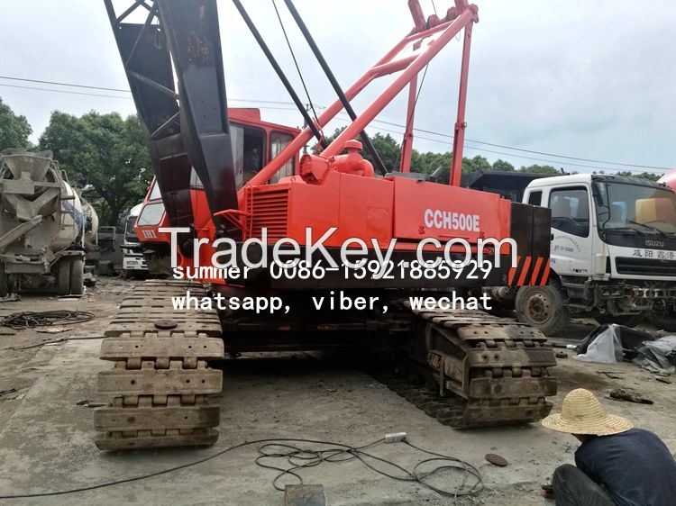 used 50tons crawler crane made in japan