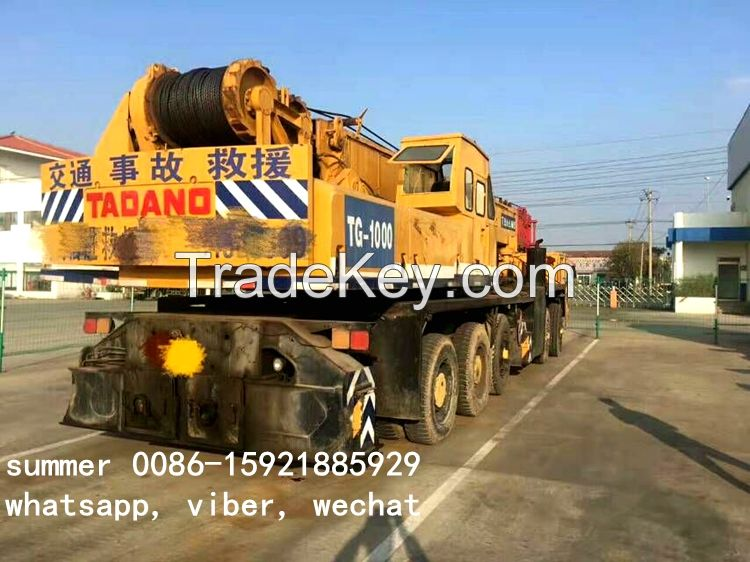 used 75t 80t tadano crane made in japan