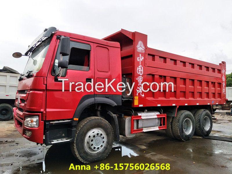 Sinotruck 6x4 howo dump truck, 25ton tipper truck for sale