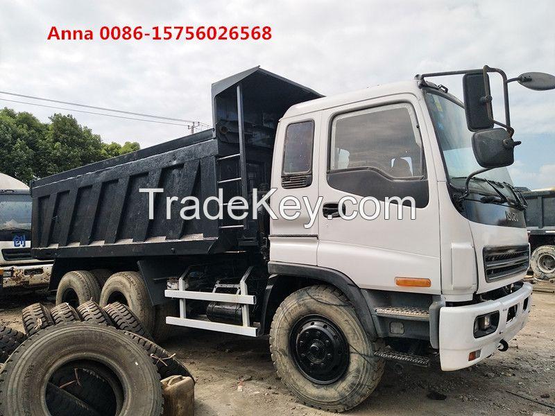 Isuzu forward dump truck, used Japanese dump truck for sale