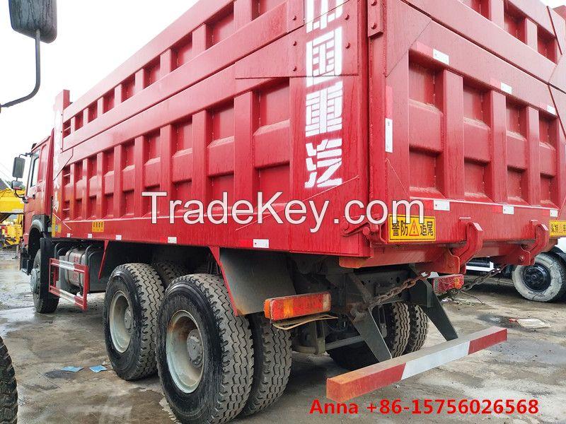 6x4 336hp Howo dumper, used Sinotruck dump truck sale