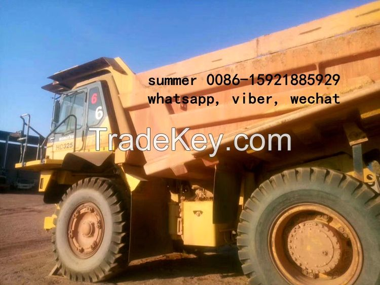 used komatsu dump truck for sale/ used off high way tipper truck