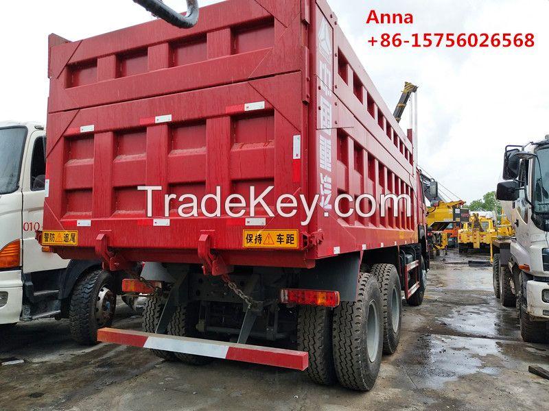 Used sinotruk Howo tipper truck, china dump trucks for sale