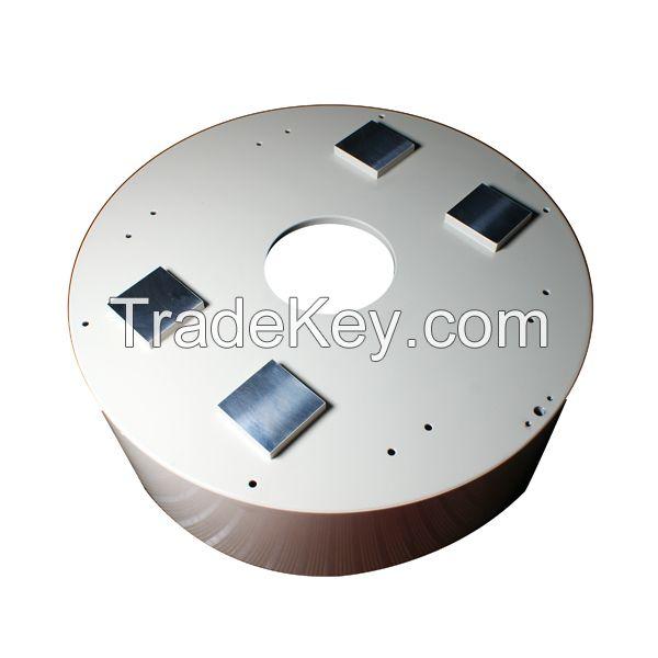 Packaging machine parts machining