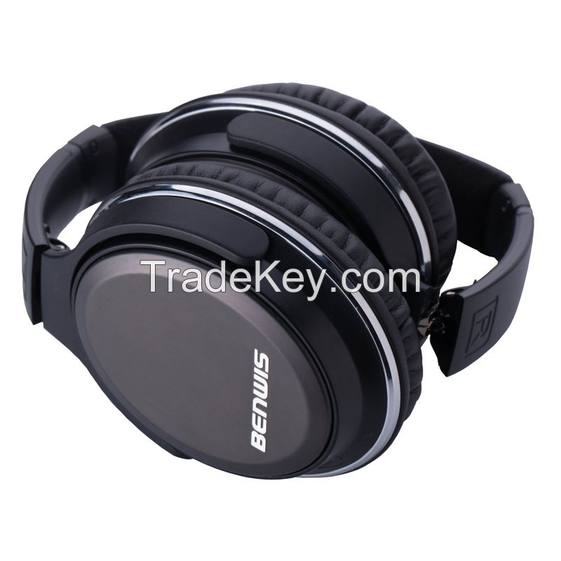 2015 BENWIS foldable revolving bluetooth 4.0 headphones for mobile phone