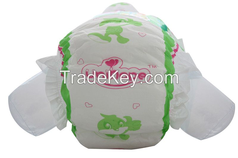 Hot sale disposable baby diaper with good quality and best price