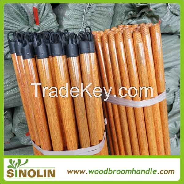 SINOLIN cheap high quality PVC coated wooden broom stick household