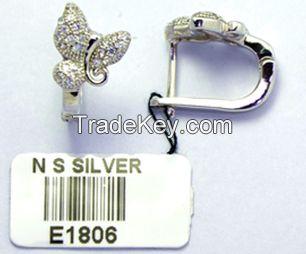 Nanshan 925 sterling earrings
