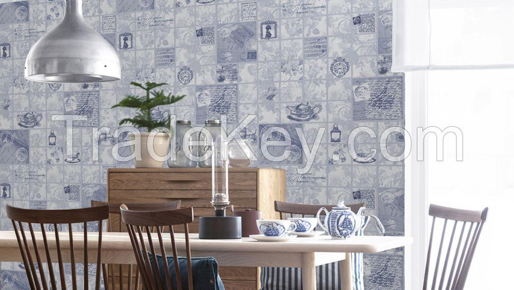 Paper vinyl wallpapers