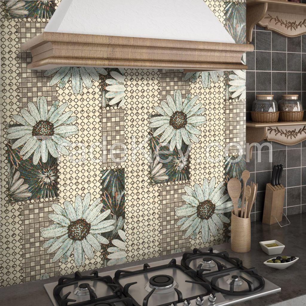 Wallpapers waterproof embossed stencilled foam duplex