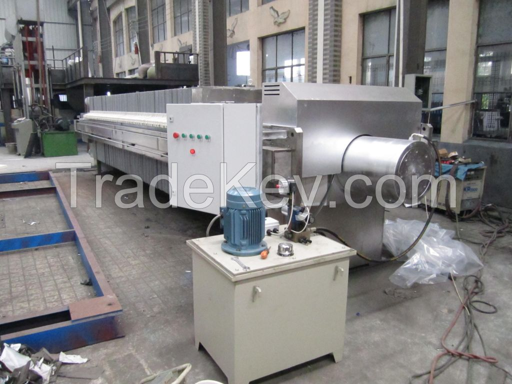 SX Stainless steel plate and frame filter press,Stainless steel Chamber filter press