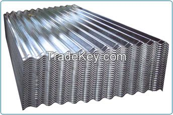Full Hard Galvanized Corrugated Steel Iron Sheet For Roofing