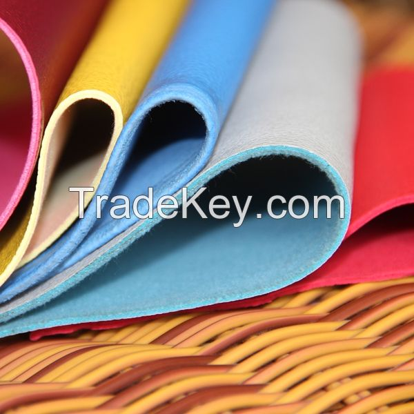 Embossed PVC synthetic leather for sofa and furniture usage