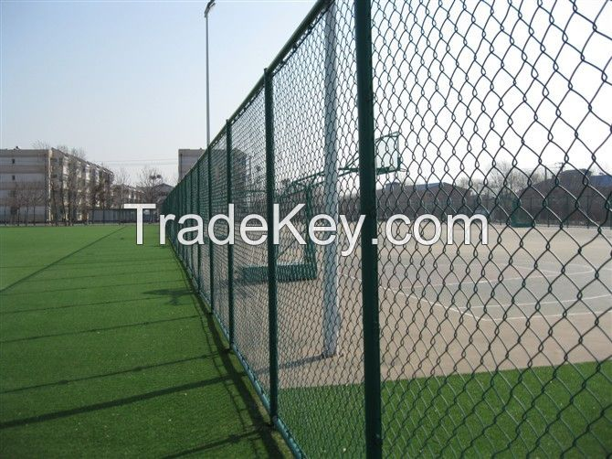 high quality chain link fence hot sale