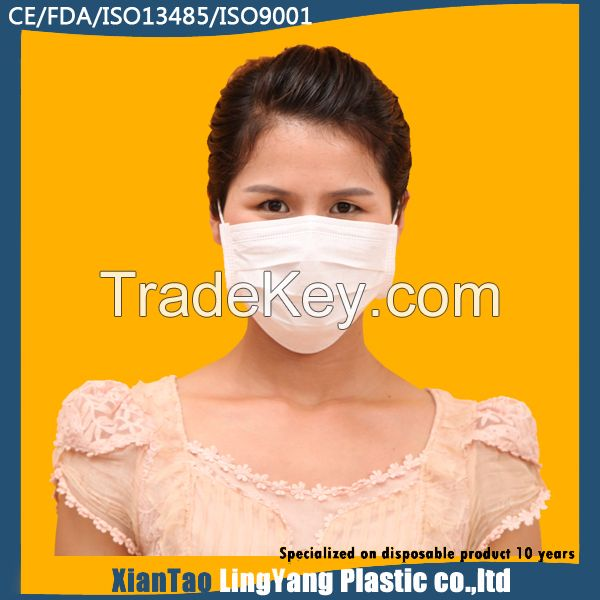 Non woven 3ply face mask