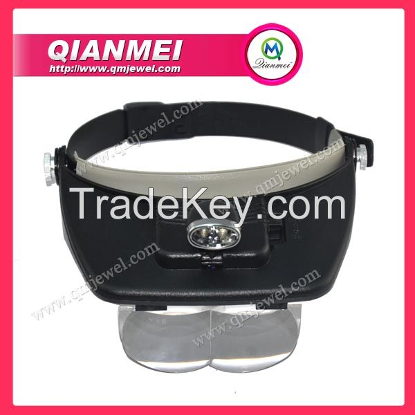 Light Head Magnifying Glass Head wearing Magnifier jewelry making tools