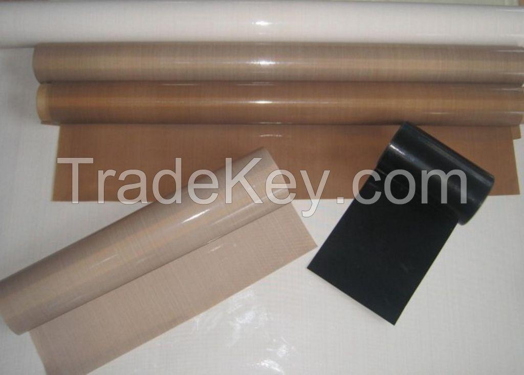 High Temperature PTFE teflon coated fiberglass cloth