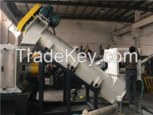 PP/PE Film, PP woven bag recycling machine for washing