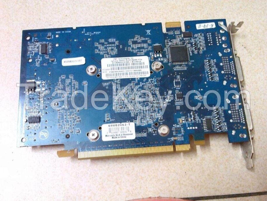 Original Blue Version Graphics Video Card 7600GT DirectX 9 256MB 128-Bit GDDR3 PCI Express x16 SLI Support IU22/IE33 P/N: 453561270341
