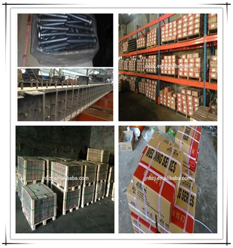 High strength bolts with hexagon head for steel structures from China supplier