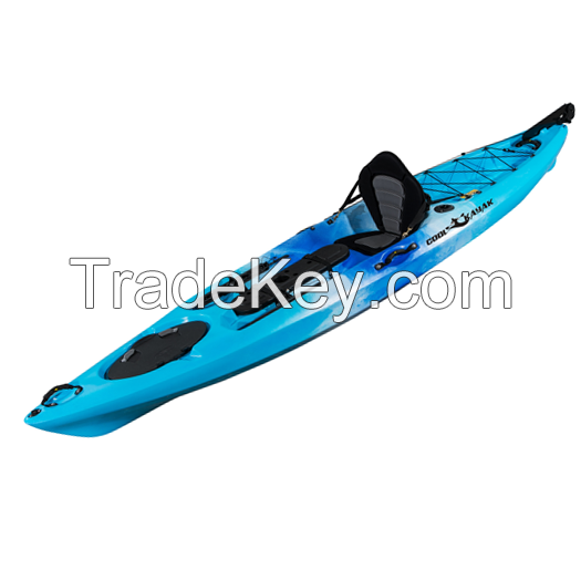 with high quality pro angler 12ft fishing sit on top kayak
