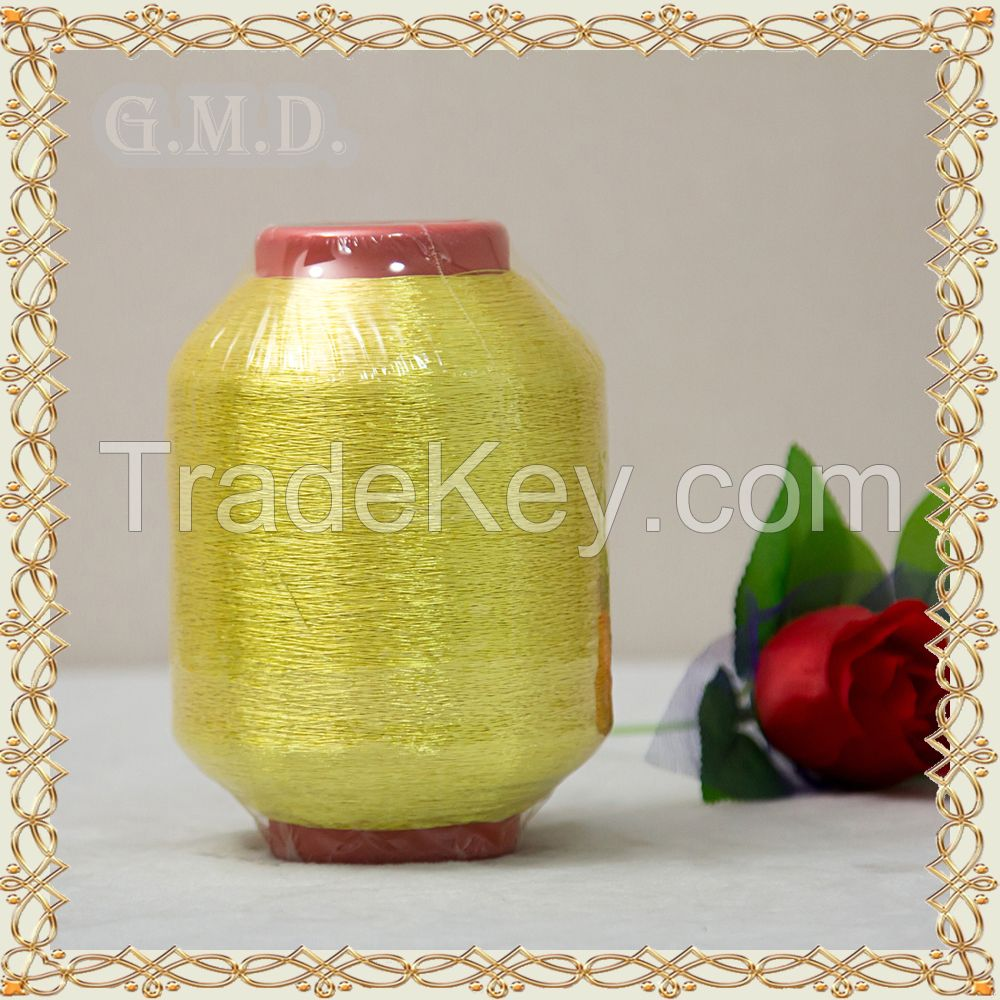 Made in China St Type Pure Gold Metallic Yarn For Embroidery