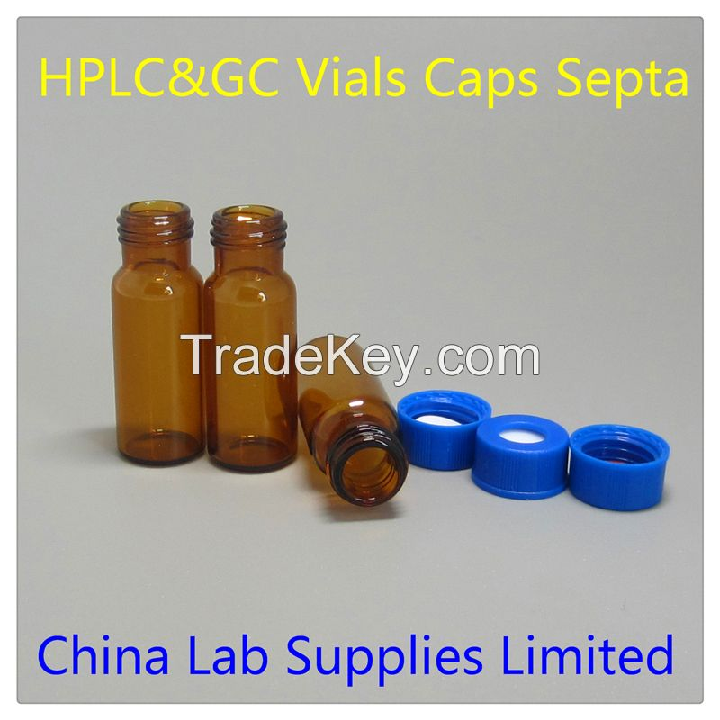 2ml amber HPLC vials