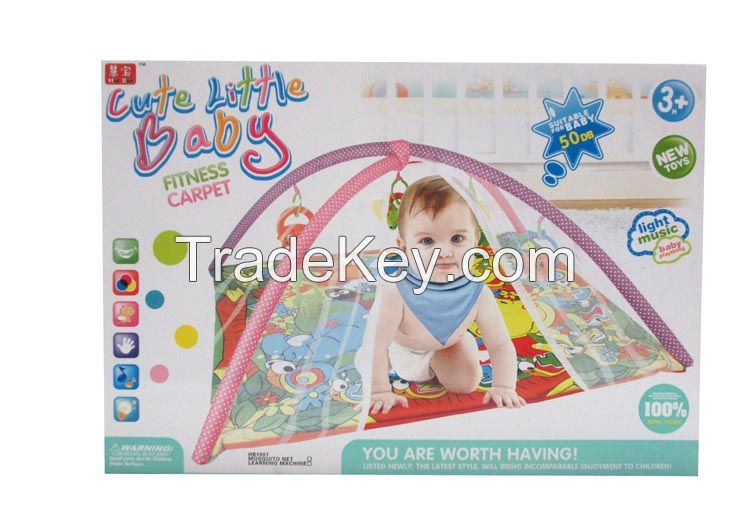 Baby fitness frame with mat