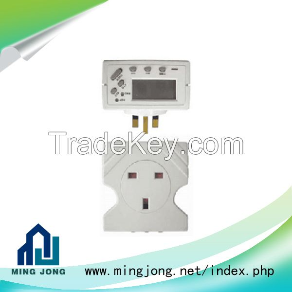 US 24 hour automatic battery digital timer switch