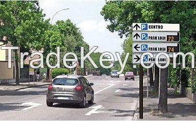 IP56 Led Traffic Signs Excellent Quality and Durability 12V DC / 24V DC