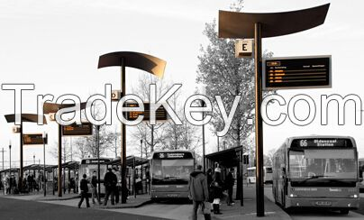 High Energy Efficiency Bus Station Signs 1150mm x 620mm x 492mm