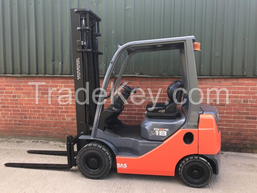 Toyota Forklifts Available and Scissors lifts