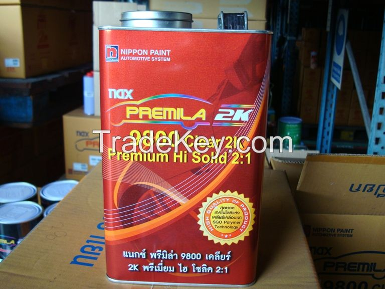 Nax Premila 9800 Clear 2K Premium Hi Solid 2:1