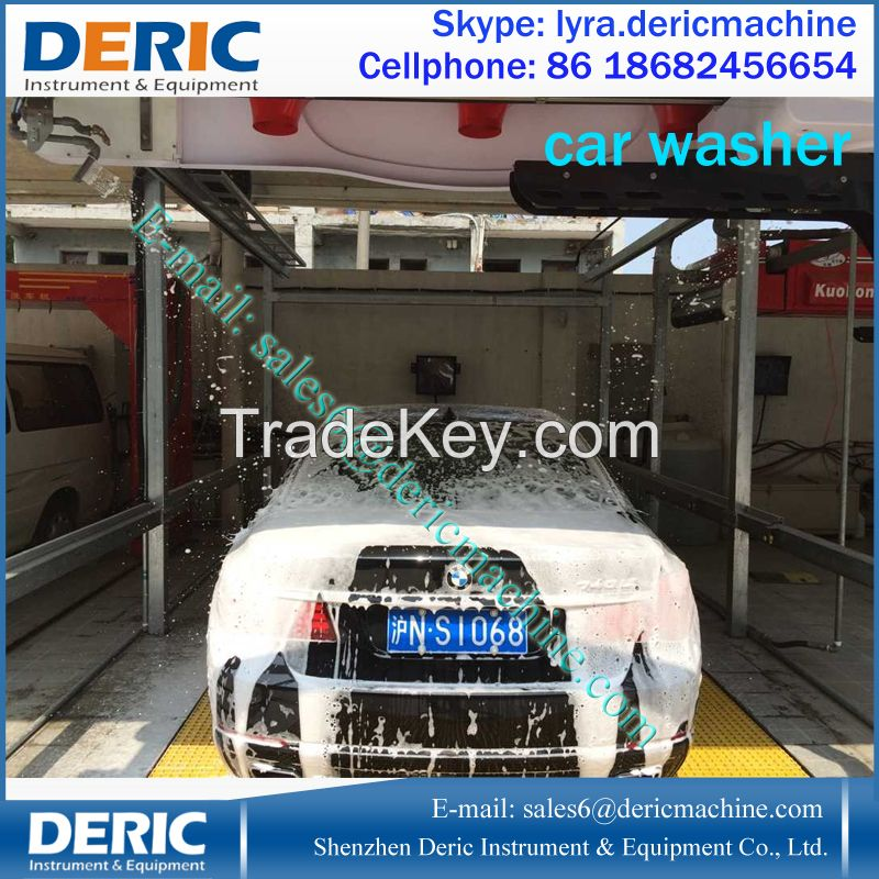 Automatic Touchless Car Wash Machine With Embedded Moving Dryer