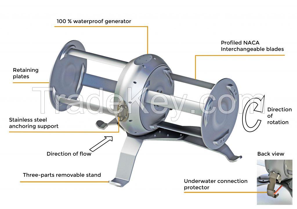 River Hydro turbine