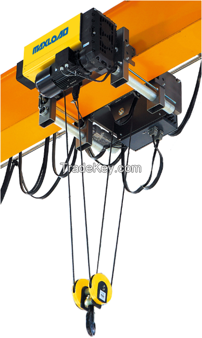 12.5 ton Single Beam Euro Electric Wire Rope Hoist