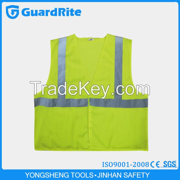 Yongsheng High Reflective Tape Safety Reflective Vest for Construction Workers And Police