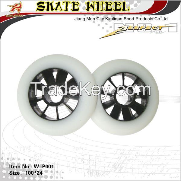 Speed inline skate wheel, inline skate pu wheel, inline pu wheel