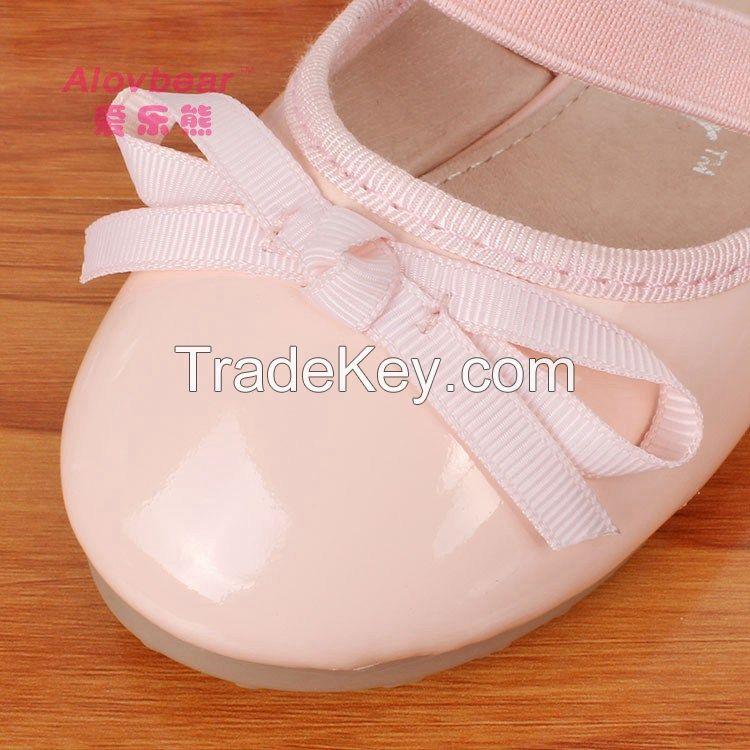 New model beautiful hot sale wholesale children dress shoes