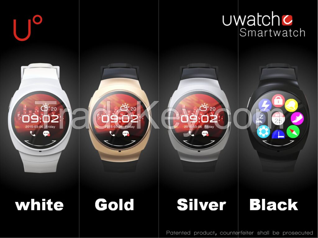 Joupie-UO 2015 Chinese activity tracker watch, sport watch, waterproof smart watch-Black/white/gold/silver
