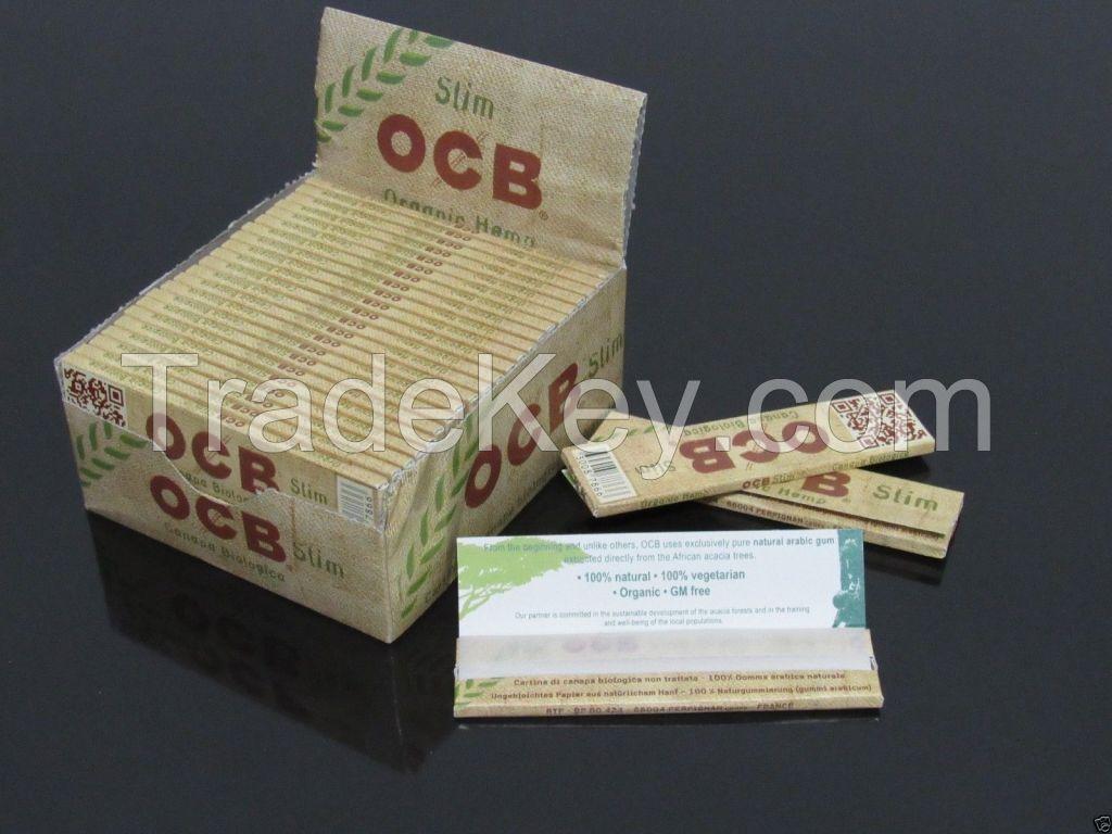 Booklets OCB Premium Cigarette Rolling Papers King's Slim & Tips