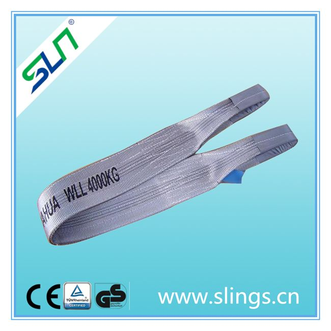 Polyester flat webbing sling/ webbing sling/ lifting sling SF 7:1-- SLN