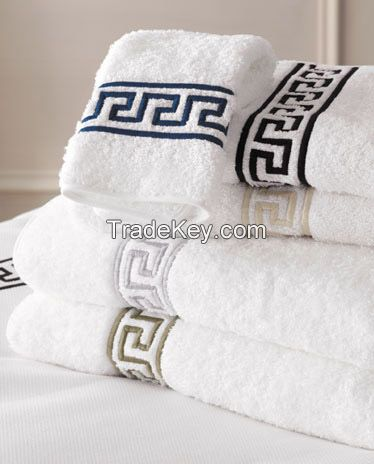 Soft Terry Towels, Jacquard, Dobby