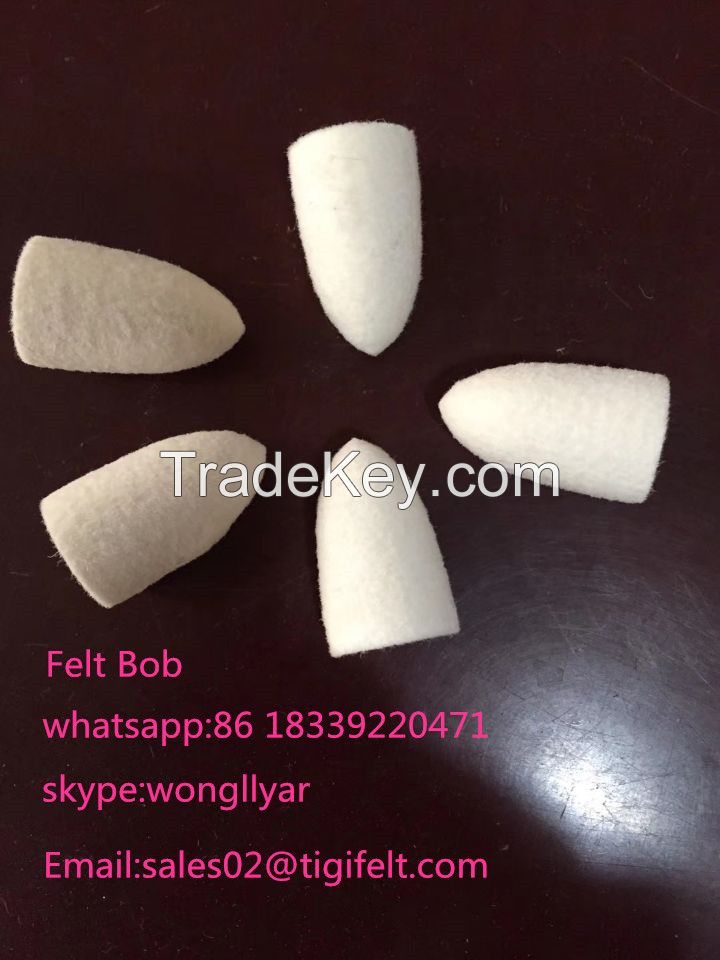 Felt Spindle Shaped For Jewelry Polishing/Teeth Polishing
